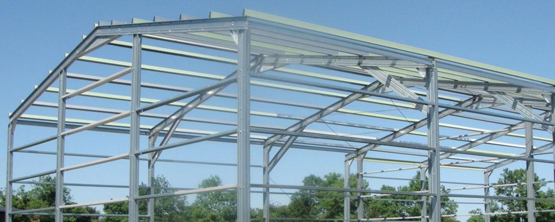 SkyClad - Steel Frame Buildings, Roof & Wall Cladding, Flashings