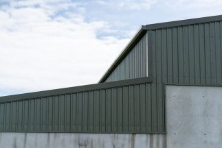 SkyClad Box Profile Cladding on Sports Hall Roof