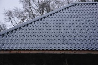 SkyClad Ltd Ireland Tile Effect Roofing Raven Blue Colour