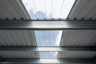 SkyClad Polycarbonate Roof Lights Provide Natural Light