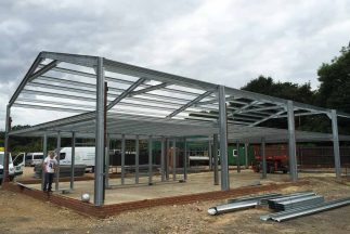 SkyClad Ltd Ireland Steel Frame Commercial Building