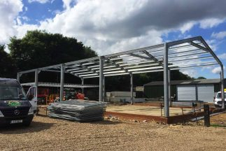 SkyClad Ltd Ireland Steel Frame Industrial Building