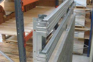 SkyClad Ltd Ireland Safety Barrier at Stairs