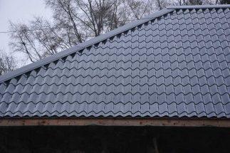 SkyClad Ltd Ireland Tile Effect Roofing Raven Blue Colour