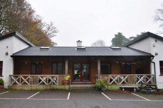 SkyClad Ltd Ireland Tile Effect Roofing on Community Centre