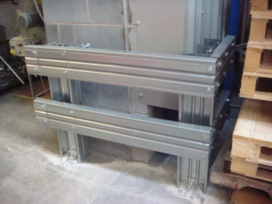 SkyClad Ltd Ireland Safety Barrier at Control Panel